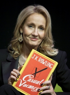 After finding huge success with her Harry Potter books, J.K. Rowling released a novel for adults, 'The Casual Vacancy,' in 2012. (Photo by David Levenson/Getty Images)