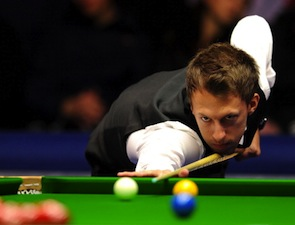 Judd Trump of England is another possibility to topple O'Sullivan. (Photo by Charlie Crowhurst/Getty Images)