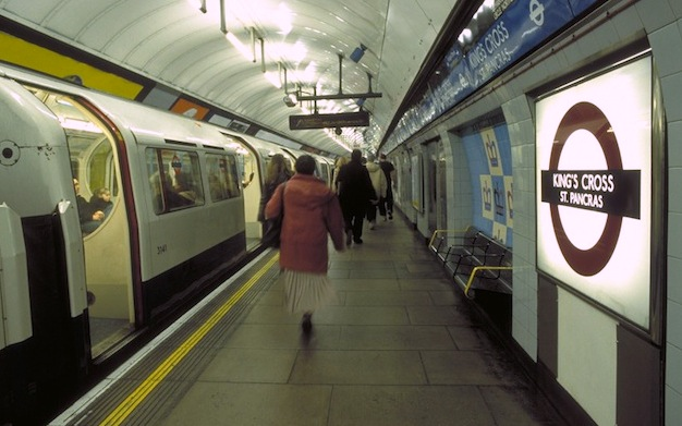 Underground and regular train services meet at many locales, including Kings Cross (Photo by Britain on View/Visit Britain)