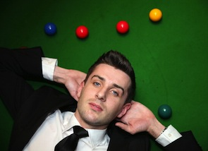 Mark Selby of England, shown posing during the media launch for the 2013 Betfair World Snooker Championship, is one of the top contenders. (Photo by Warren Little/Getty Images)