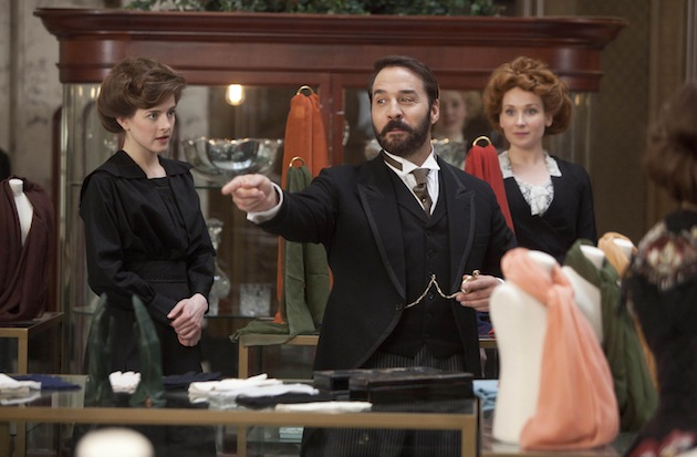 """Mr. Selfridge,"" airing on PBS Masterpiece, stars Jeremy Piven as the American who changed British department-store history. (Photo courtesy of ITV for Masterpiece)"
