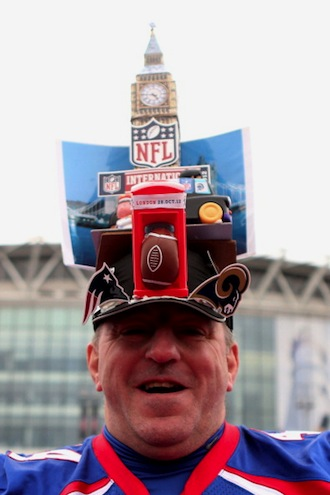 The NFL International Series, played at Wembley Stadium, has helped galvanize British NFL fans. (Photo by Scott Heavey/Getty Images)