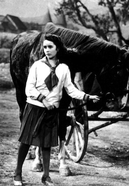 Elizabeth Taylor photographed on the set of the 1944 film 'National Velvet'. (Photo by Anthony Cake/Photoshot/Getty Images)