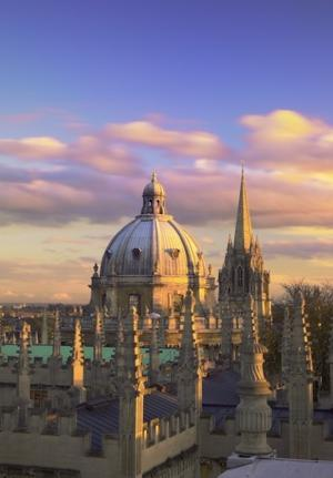 J.R.R. Tolkien studied and later taught among Oxford's dreaming spires. (Photo by Pawel Libera/VisitBritain)