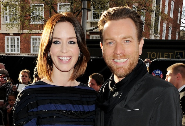 "Films and TV shows packed with British talent are up for Golden Globe Awards, including ""Salmon Fishing in the Yemen,"" starring Emily Blunt and Ewan McGregor. (Photo by Dave M. Benett/Getty Images)"