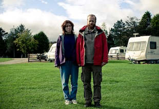 Chris (Steve Oram) and Tina (Alice Lowe) tour northern England by caravan in the movie 'Sightseers.'