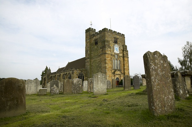 Britain is full of very old churches like this one, St. Mary's Church in Kent. (Photo by Daniel Bosworth/VisitBritain)