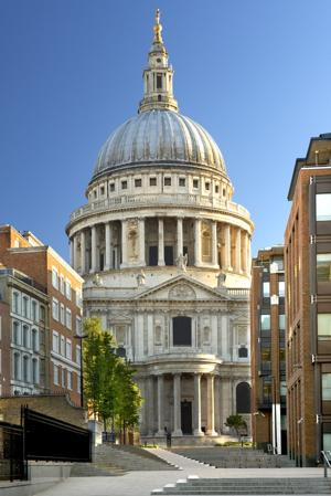 Climb to the top of St. Paul's cathedral dome for great views. (Photo by Eric Nathan/Visit Britain)