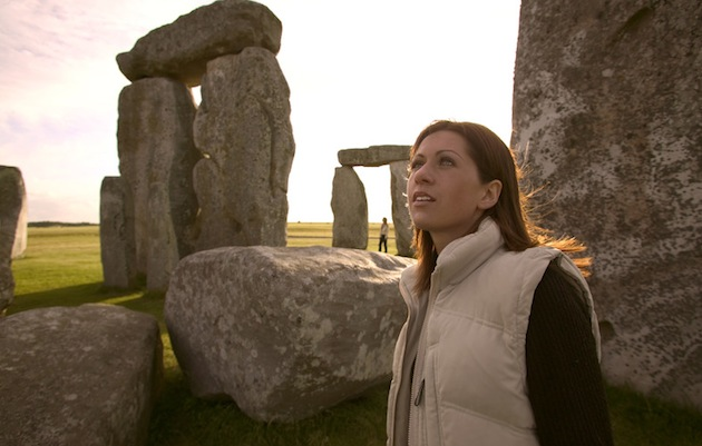 Stonehenge is a busy place during winter and summer solstices. Access to the inner stones is by appointment only.(Photo by Martin Brent/Visit Britain)