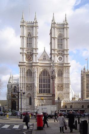 Westminster Abbey is the site of many special occasions, including royal weddings. (Photo by Gordon Joly via Wikimedia Commons)