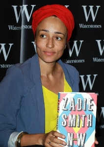 Writing prodigy Zadie Smith with her latest book, 'NW,' published in 2012. (Photo by Fred Duval/Getty Images)