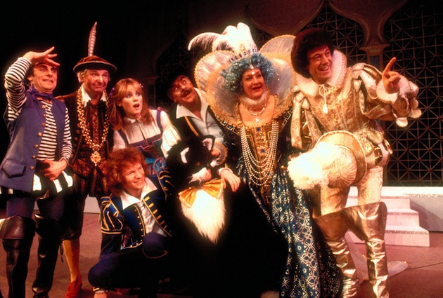 """Dick Whittington and His Cat,"" shown here at the Palladium in London's West End, is a popular ""panto"" play during the holidays. (Photo by Britain on View/Visit Britain)"