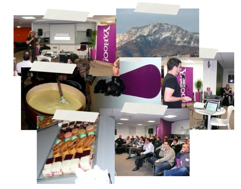 Yahoo Developer Network at Grenoble, France