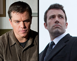 Matt Damon and Ben Affleck Warner Bros./The Weinstein Company