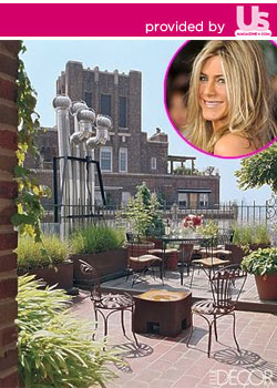 Jennifer Aniston and her new digs William Waldron/Elle Decor; Stephen Lovekin/Getty Images