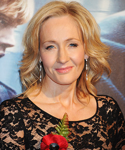 J.K. Rowling Dave M. Benett/Getty Images
