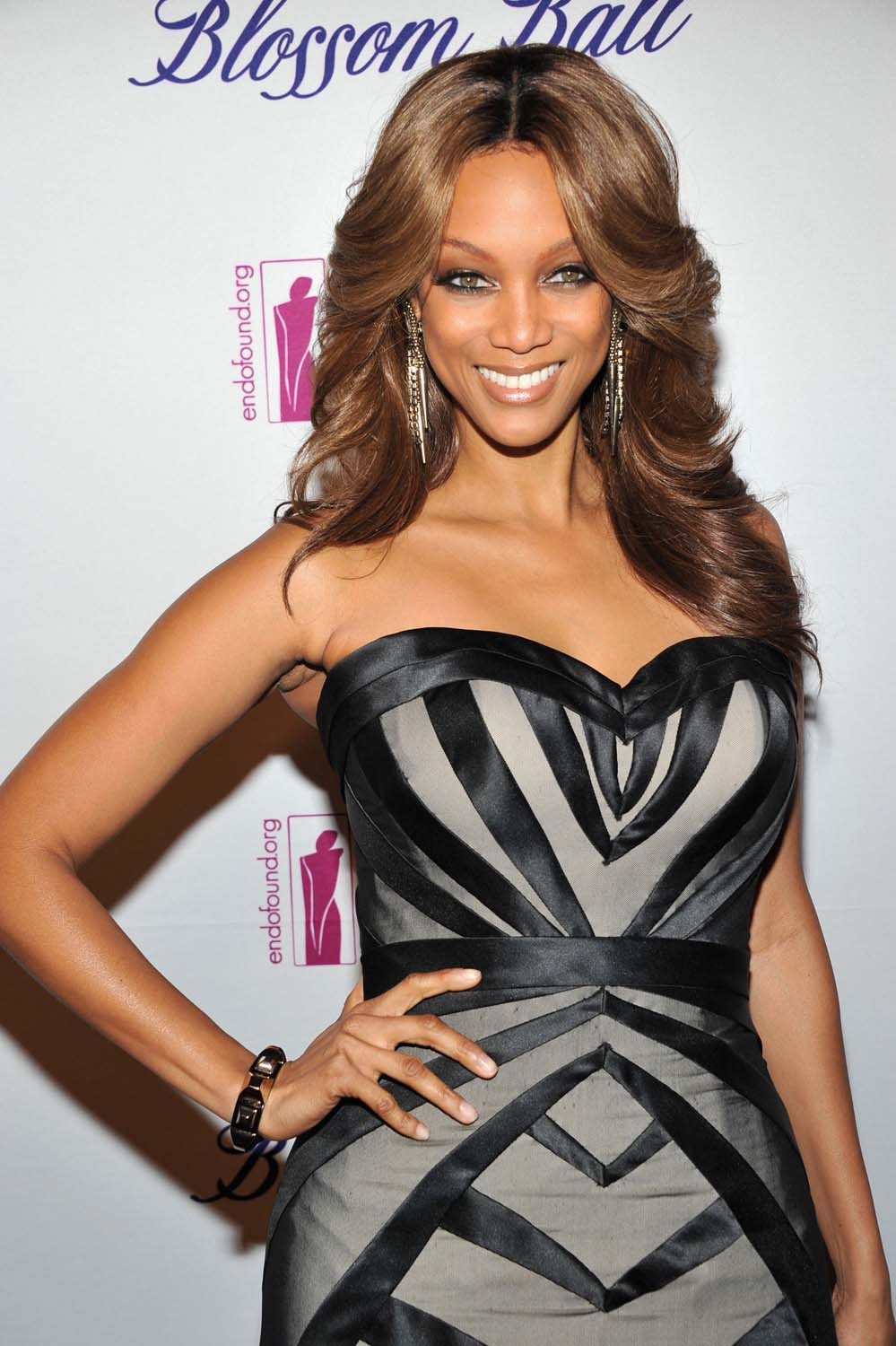 "Tyra Banks enters yet another medium; see her on ""Katie Couric"""