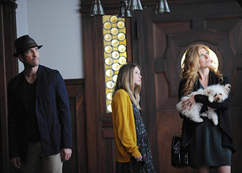 "Get out of the house!: The Harmons move in on ""American Horror Story"" (Robert Zuckerman/FX)"