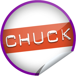 Exclusive 'Chuck' Sticker From GetGlue and Yahoo! TV