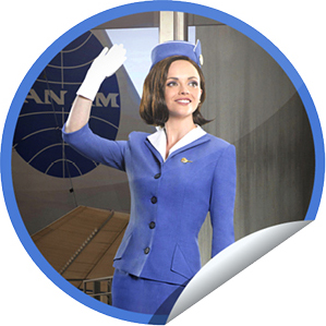 Exclusive 'Pan Am' Sticker From GetGlue and Yahoo! TV