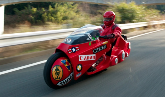 'Akira' superfan builds iconic bike for charity