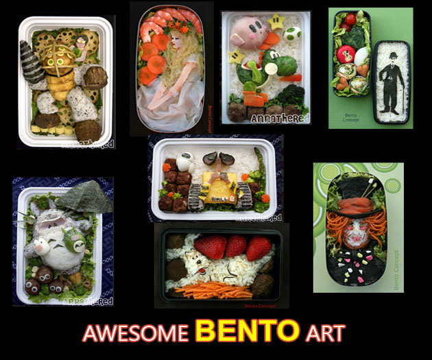 Awesome Bento Art