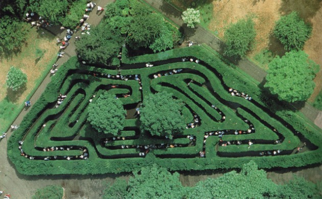Get lost in these amazing mazes