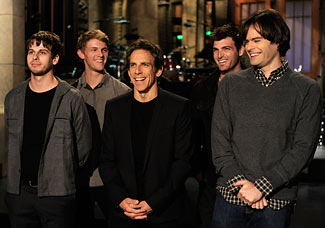 "Ben Stiller returned to his sketch-comedy roots on this week's ""SNL"" (Dana Edelson/NBC)"