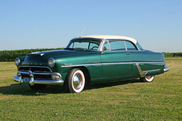 October 29: The last Hudson Hornet was built on this date in 1954