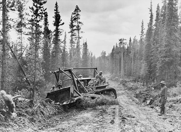 October 28: The Alaskan Highway was completed on this date in 1942
