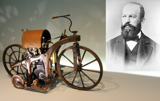 gottlieb daimler and his inventions essay Gottlieb daimler the inventor gottlieb daimler was born on march 17, 1834 in schorndorf, württemburg, and was the son of a master baker daimler eventually.
