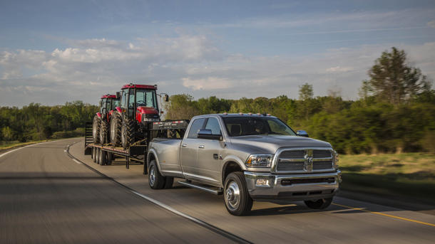 2013 Ram 2500/3500 pickups, moving like Fred Astaire: Motoramic Drives