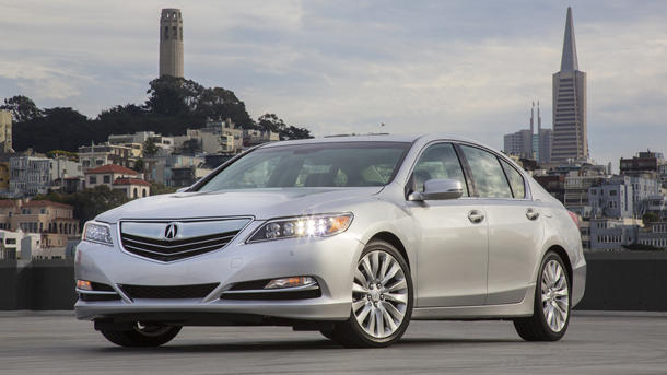2014 Acura RLX, a techno remix of the original hit: Motoramic Drives