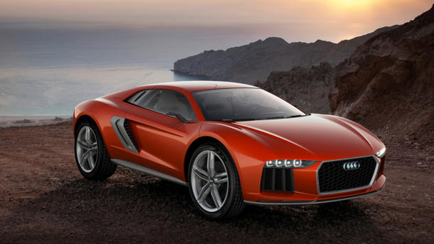 Audi Nanuk Quattro concept, the 544-hp off-road monster with familiar chops