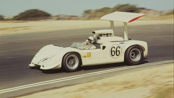 July 23: Jim Hall, builder of the Chaparral race team, was born on this day in 1935