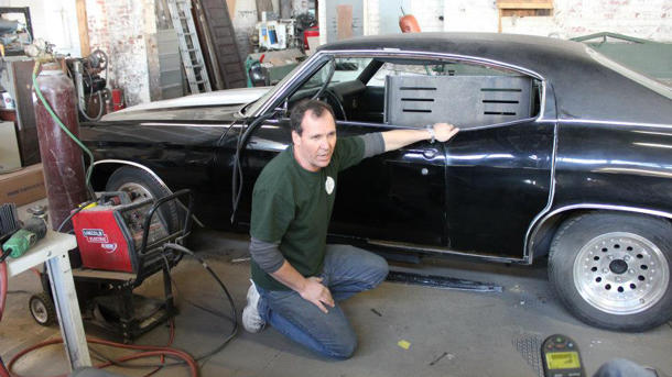 Inside one hot rodder's drive to build muscle cars for disabled veterans