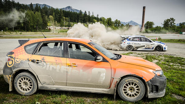 The dirty fun of learning how to drive like a rally star
