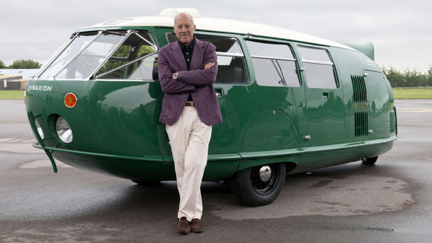 July 12: Buckminster Fuller builds his first Dymaxion car on this date in 1933