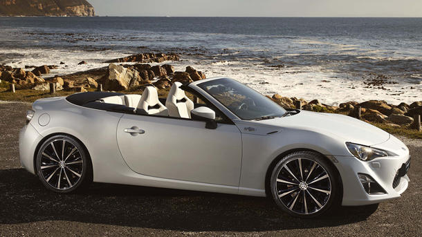 Toyota FT-86 Open concept previews the drop-top Scion FR-S