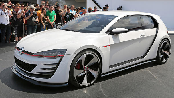 Volkswagen unveils a 503-hp Design Vision GTI, for the fans