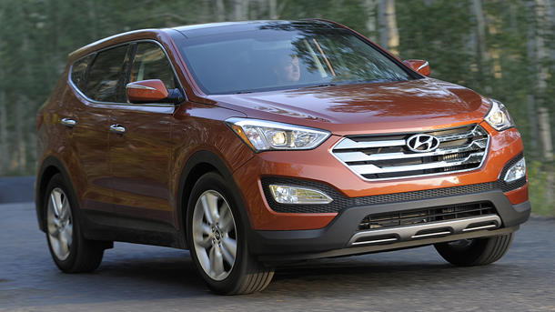 2013 Hyundai Santa Fe, the long hauler: Motoramic Drives