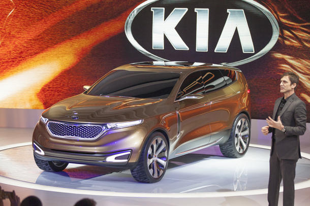 Kia Cross GT Concept imagines a BMW in Korean clothes