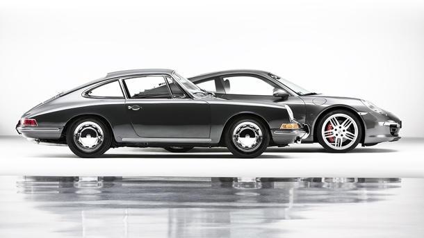 在1963年秋天,一小群的保时捷员工在法兰克福国际汽车展上,目前该公司对未来的憧憬。由于更换源于大众的四缸356是一种新的模式叫901,它的特点的改 ??良版本的356的浴缸剪影,以及两个气瓶。最初,最大的争议是在模型的名字,标致按下的权利,三位数的称谓,中间的数字是零。因此,901成了911。 911改变了这一切的公司,所以它是正确的图标,说:皮特斯托特,主编,首席全景,美国保时捷俱乐部的杂志。当你火了911和听到顶置凸轮轴水平对置六缸其冷却风扇呼呼的,这是保时捷的独特的声音。911坚守本身,这