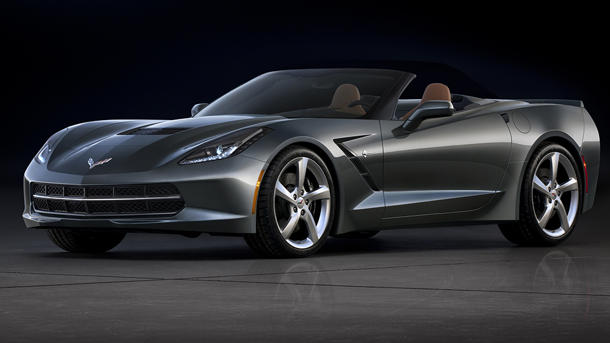 First images of the 2014 Chevrolet Corvette Stingray convertible