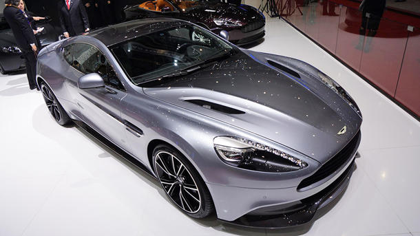 Aston Martin marks its 100th anniversary with a more rapid Rapide