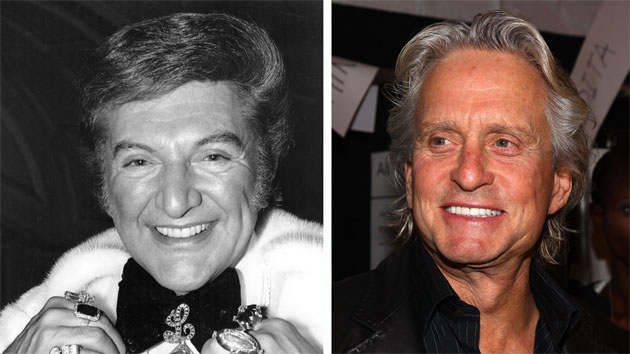 Liberace and Michael Douglas (Photo: David Ashdown/ImageWire)
