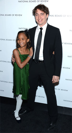 Quvenzhane Wallis and Benh Zeitlin (Photo: WireImage)