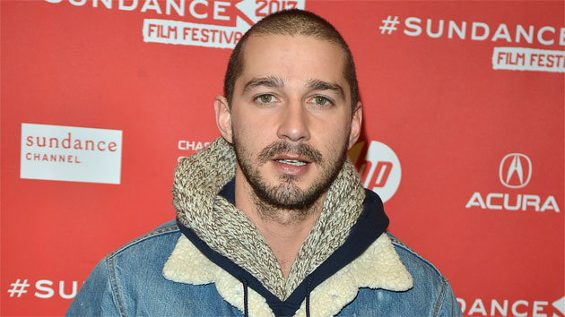 Shia LaBeouf at Sundance (Photo: George Pimentel/WireImage)