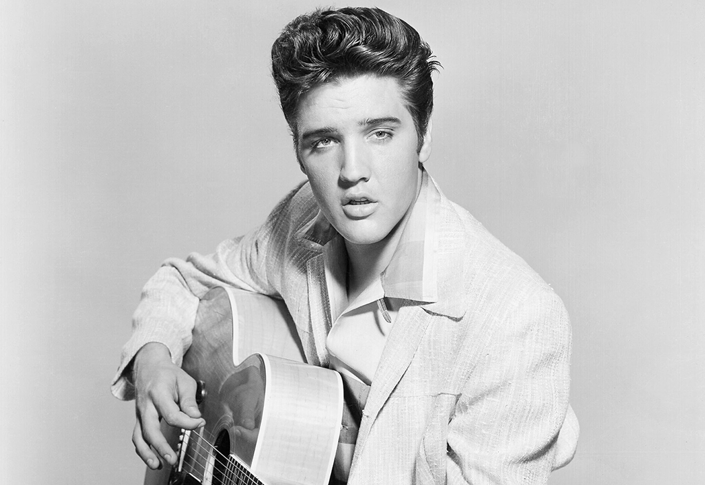 Elvis Presley in 1956. Photo by Michael Ochs Archives/Getty Images.