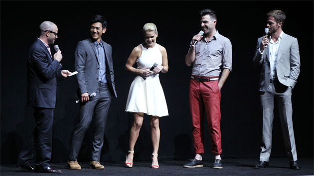 The cast of 'Star Trek Into Darkness' at CinemaCon